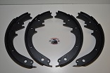 Brake Shoe Set,  Scout 800, Scout II