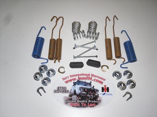 Isa U0026 39 S International Harvester  Drum Brake Hardware Kit