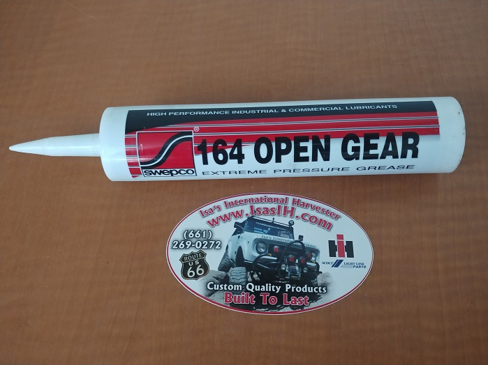 SWEPCO Open Gear 164 Grease for Closed Knuckle Axles and Manual Steering Boxes